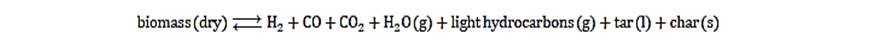تولید گاز متان حاصل از بیوگاز ها که از توده های زیستی 1