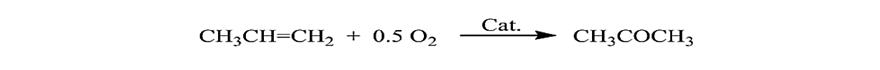 فرمول واكنش اكسيداسيون ايزوپروپيل الكل براي توليد استون (فروش استون كمهو)